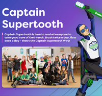 Captain Supertooth Celebrates National Superhero Day with New Website